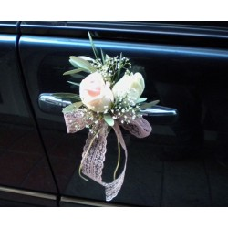 Wedding in Drama. Fresh Flowers for wedding. Bridal Car 2