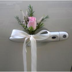 Wedding flowers Flower shop in Drama. Bridal Car 4