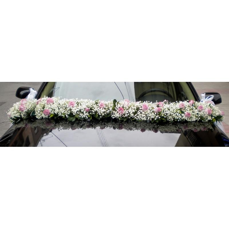 Wedding decoration. Bridal Car 6
