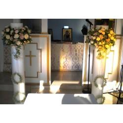 Νυφικές Λαμπάδες Γάμου 3