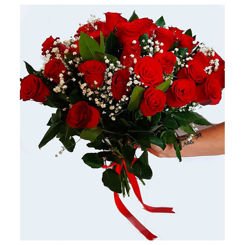 send red roses in drama city with free delivery
