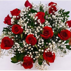 Send your love this valentine's day with a wonderful flower bouquet. Free delivery for Drama city
