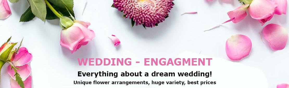 Flower Shop in Drama. Wedding Flowers